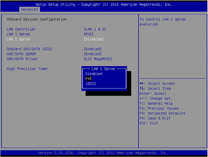 تنظیمات کارت شبکه در مادربرد