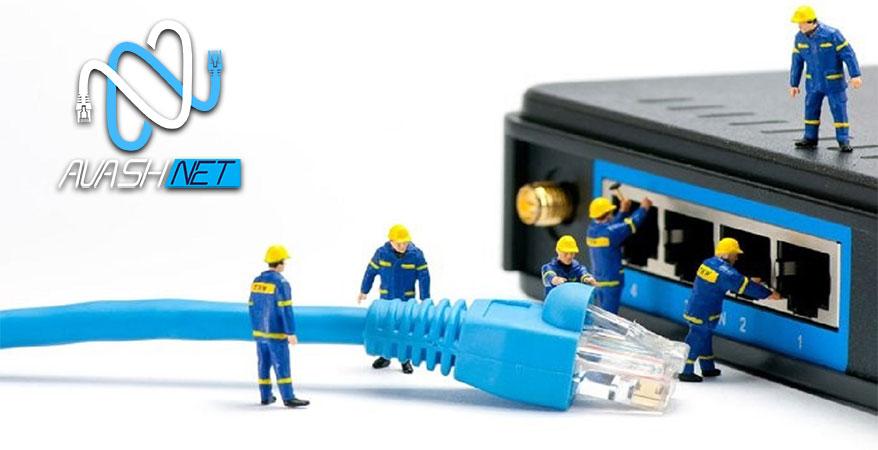 خدمات پسیو شبکه در کرج